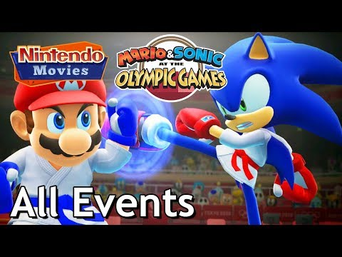 Mario & Sonic at the Olympic Games Tokyo 2020 - All Events (3 Players, Very Hard, All Gold Medals)