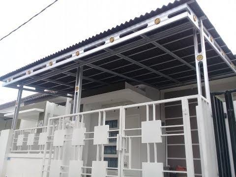 jarak reng baja ringan kanopi cara pemasangan atap onduline | doovi