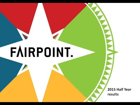 Fairpoint Group Plc webinar - September 2015
