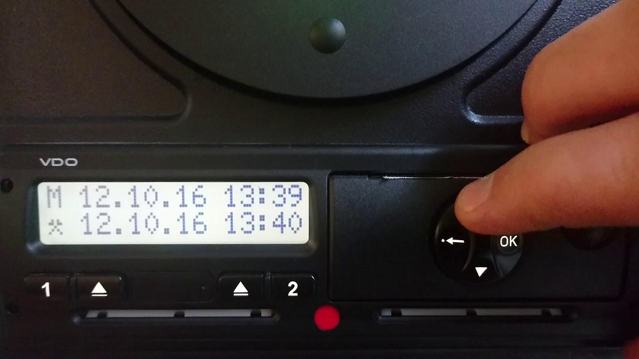Tachosys digital tachograph user guide.