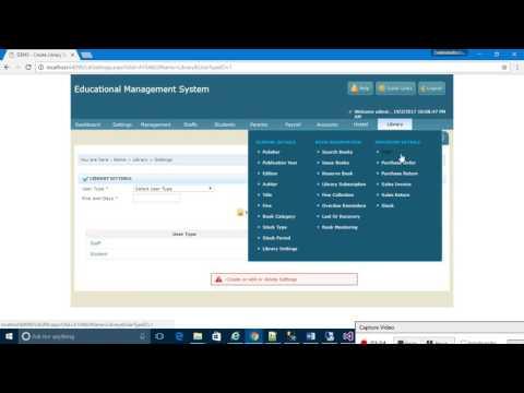 Asp.Net based College Management System