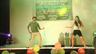 Group Dance performance by Sonia Shil and group @Jaipuria college Fresher's welcome 2015