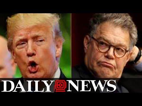 Trump slams Al 'Frankenstien' for groping photo 1