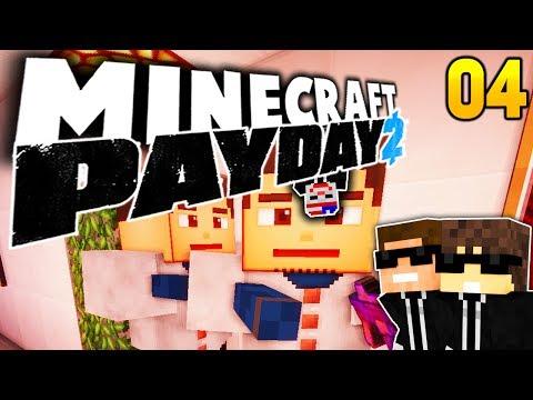 FBI PARTY!! :D | Minecraft PAYDAY 2 - #4 | Fr3akzLP