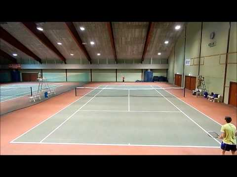 Highlights tennis match in Norway