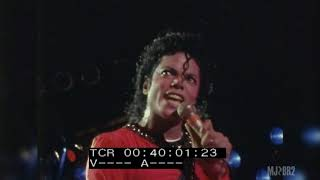 Michael Jackson | Bad Tour live in Tokyo, Japan - Sept. 13, 1987 (Red Shirt) [Snippets]