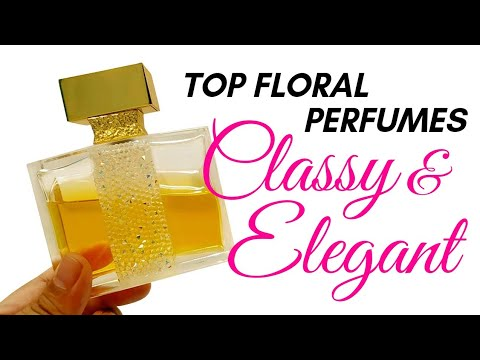 THE MOST CLASSY & ELEGANT FLORAL PERFUMES I OWN | Perfume Collection