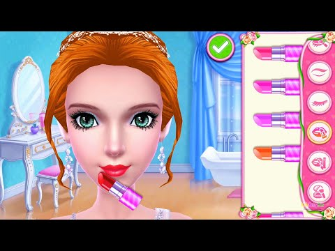 Play Spa Makeover Game With WEDDING PLANNER Dress Up, Makeup & Cake Design Colors Games For Girls