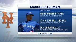 Marcus Stroman traded from Blue Jays to Mets