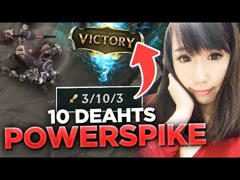 Scarra - 10 DEATHS POWER SPIKE! (Feed to Win) feat. C9Banana