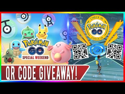 1K LIKES = QR CODE GIVEAWAY! POKEMON GO IS BECOMING PAY TO PLAY GAME! Japan Event QR Code Gameplay