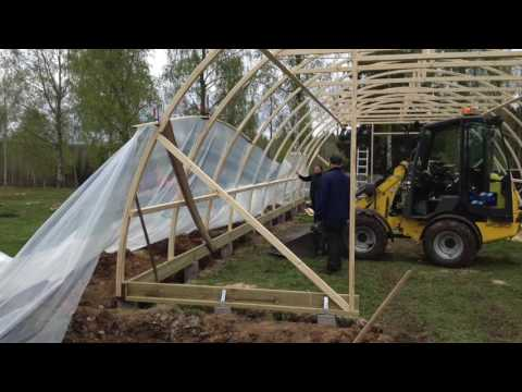 Amazing DIY Greenhouse Tunnel For Under $900