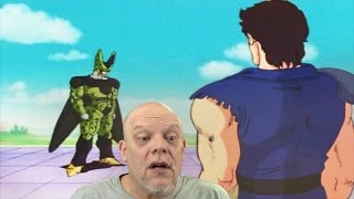reaction video   tfs cell games cell vs kenshiro i didn t see that coming