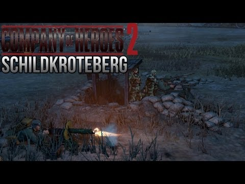 Company of Heroes 2 - Schildkroteberg on General - Theater of War Gameplay 2/3