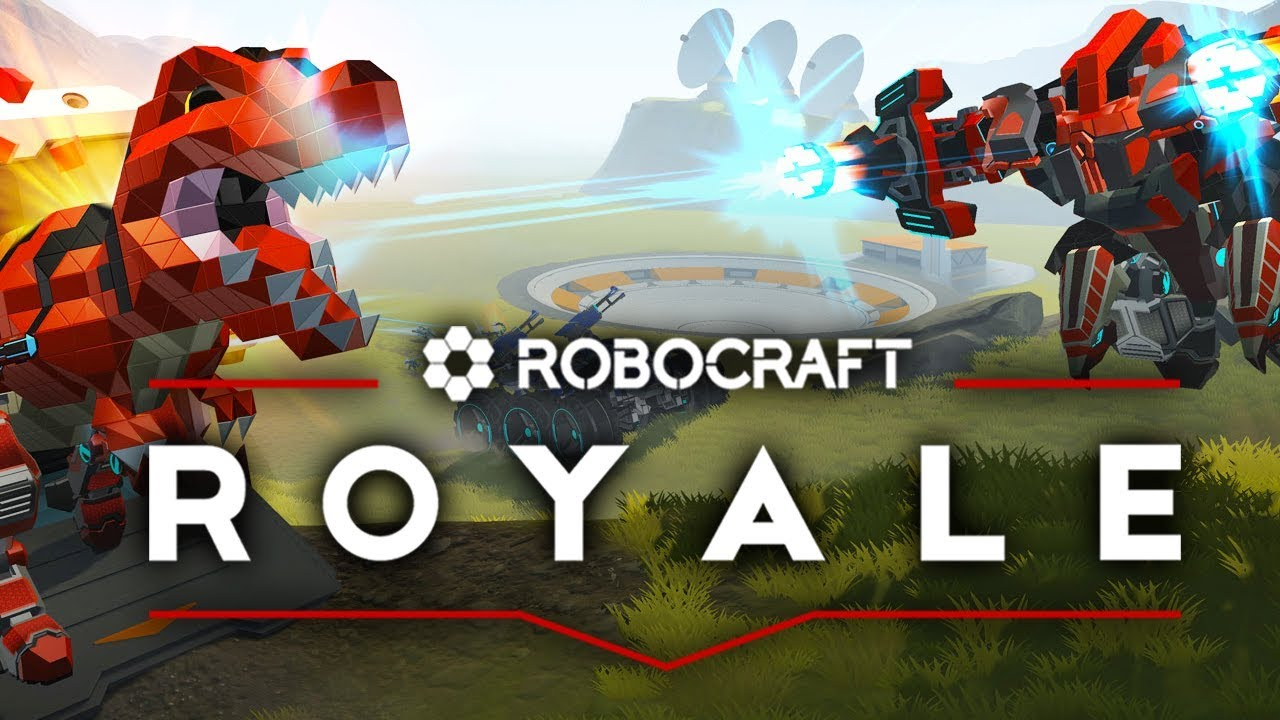 Robocraft Royale - 100 Battle Royale Games Enter The Arena ...