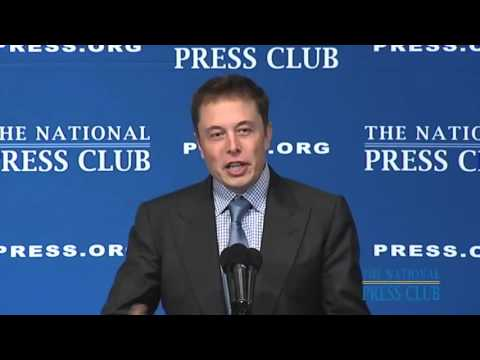 Elon Musk commits to develop fully reusable rockets 2011