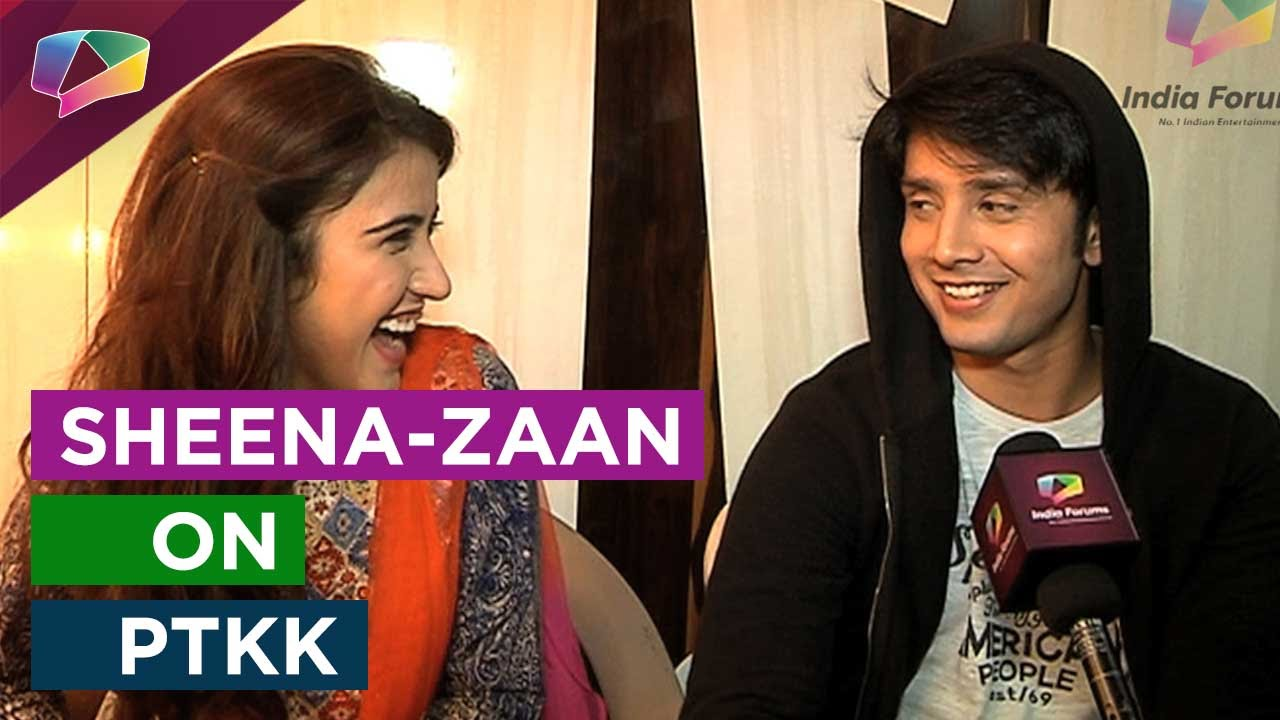 Zaan Khan Smile Sheena Bajaj and Zaan ...