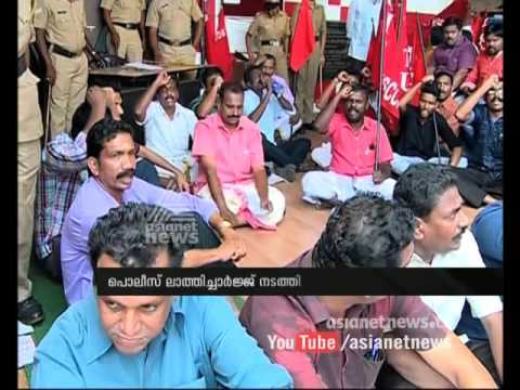 Clash before consumerfed office in Kochi