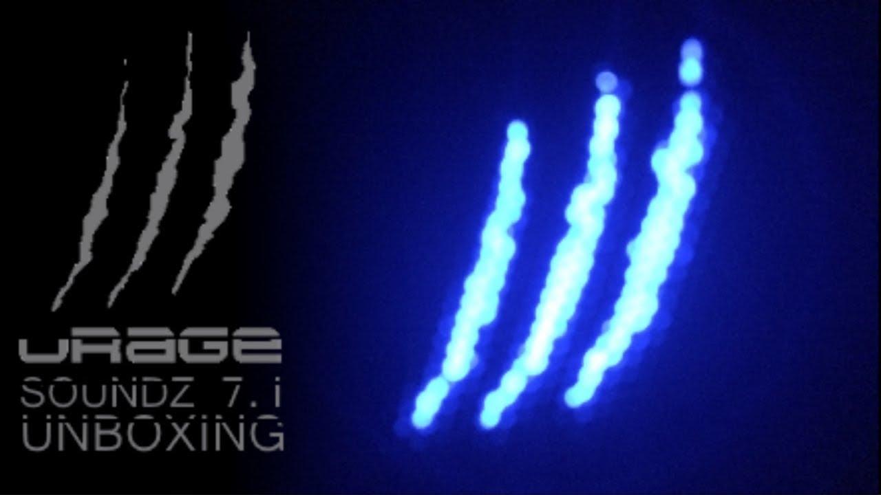 ddbeb194d14 UNBOXING] Hama Urage SoundZ 7.1 - YouTube