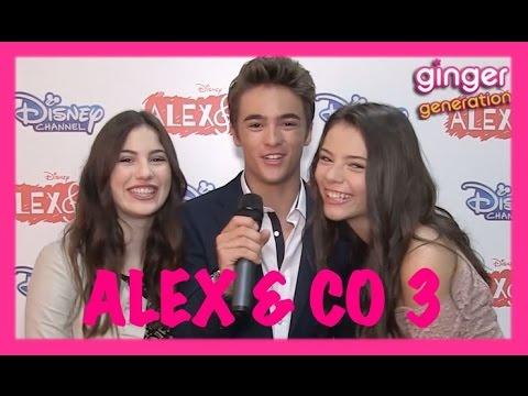 Alex & Co 3 - Intervista a Leonardo Cecchi, Eleonora Gaggero e Miriam Dossena