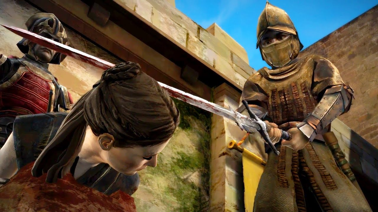 Mira Is Killed In King S Landing After Marriage Rejection Game Of Thrones Telltale Episode 6 Youtube