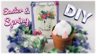DIY Spring & Easter Decor | 4 Easy Projects | March 2019