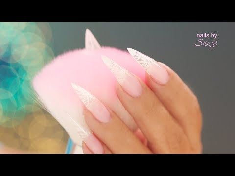 Step by Step Clear Gel Under-Nail Design