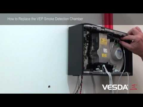 VESDA-E VEP: How to replace Smoke Detection Chamber