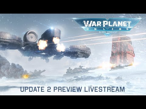 War Planet Online Update 2 Preview Livestream