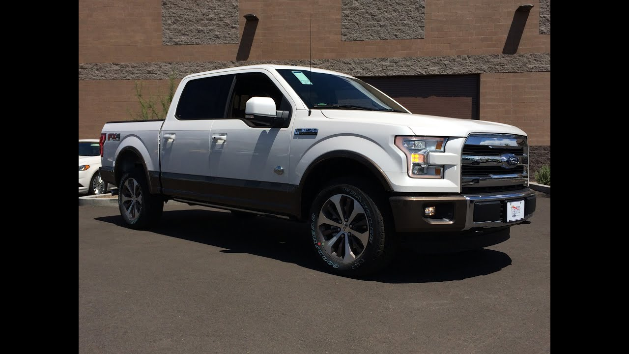 2015 Ford F-150 SuperCrew King Ranch 4x4 Walkaround - YouTube
