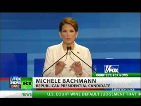 Ron Paul and Michele Bachmann go head-to-head
