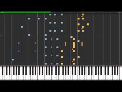 Donkey Kong Country 2 - Snakey Chantey (Synthesia) // Tom Brier