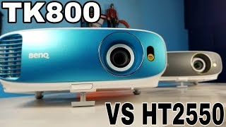 BenQ TK800 vs HT2550 True 4K Projector - What's the Difference?