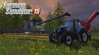 Farming Simulator 15 - Gameplay #3: Time to Harvest!