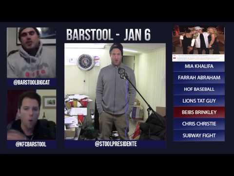Barstool Rundown January 6th