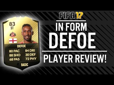FIFA 17 IN FORM JERMAIN DEFOE (83) PLAYER REVIEW! | FIFA 17 ULTIMATE TEAM