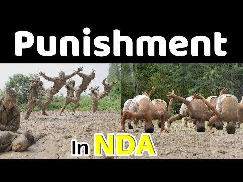 Every cadet faces these punishments during his training at NDA khadakwasla