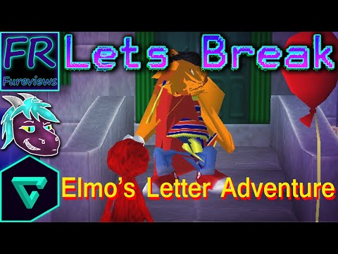 Let's Break Sesame Street: Elmo's Letter Adventure (Vinesauce ROM corruptor)