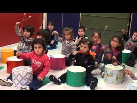 Taller Infantil de musica y movimiento Escuela de musica Albeniz Mayo 2015
