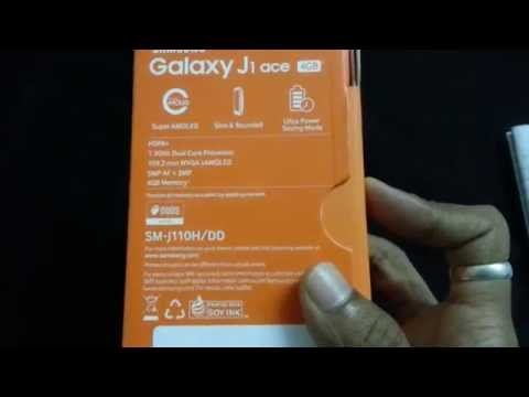 Unboxing of samsung galaxy j1 ace
