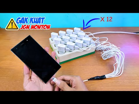 NGECAS 1 HP vs 12 CASAN (12 Chargers One Phone Experiment) Fastest Charger in The World?