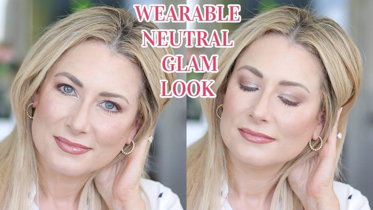 Naturally Glam Neutral Makeup | MsGoldgirl