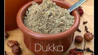 How to Make Dukka (duqqa) - The Tasty, Nutty Egyptian Spice Mix