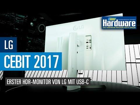 Cebit 2017: Erster HDR-Monitor von LG mit USB-C