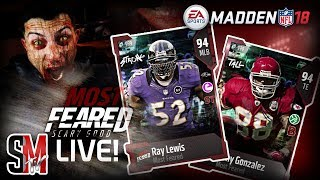 WE GOT MOST FEARED Tony Gonzalez & Ray Lewis - MADDEN NFL 18 GAMEPLAY!