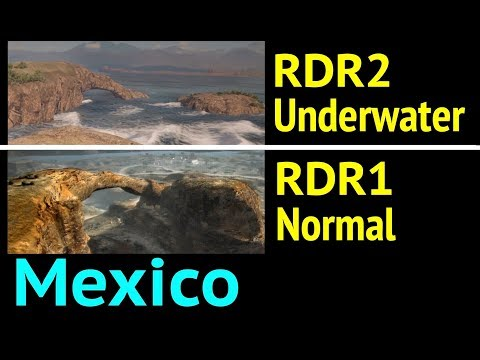 Underwater Mexico and RDR1 Music in Red Dead Redemption 2 (RDR2): Ojo del Diablo thumbnail
