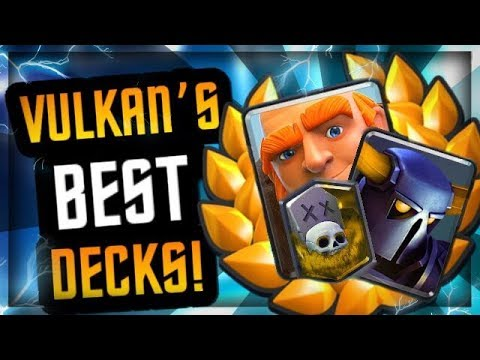 """THIS GUY IS UNREAL! :: VULKAN'S BEST DECKS :: """"A Star Is Born"""" in Clash Royale"""