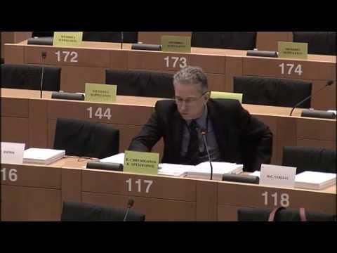 Chrysogonos questions to Jourova on LIBE Committee EU Parliament