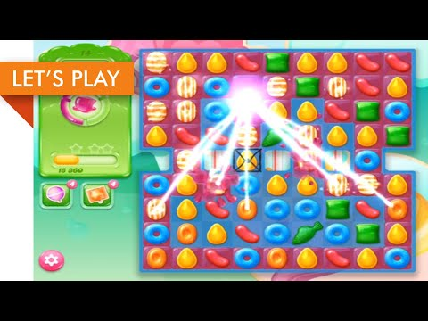Let's Play - Candy Crush Jelly Saga IOS (Level 1 - 25)