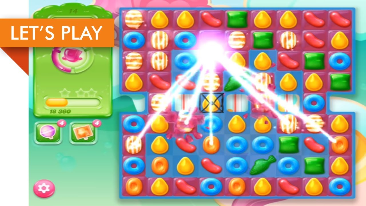 Let's Play – Candy Crush Jelly Saga iOS (Level 1 – 25)